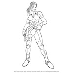How to Draw Nina Williams from Tekken