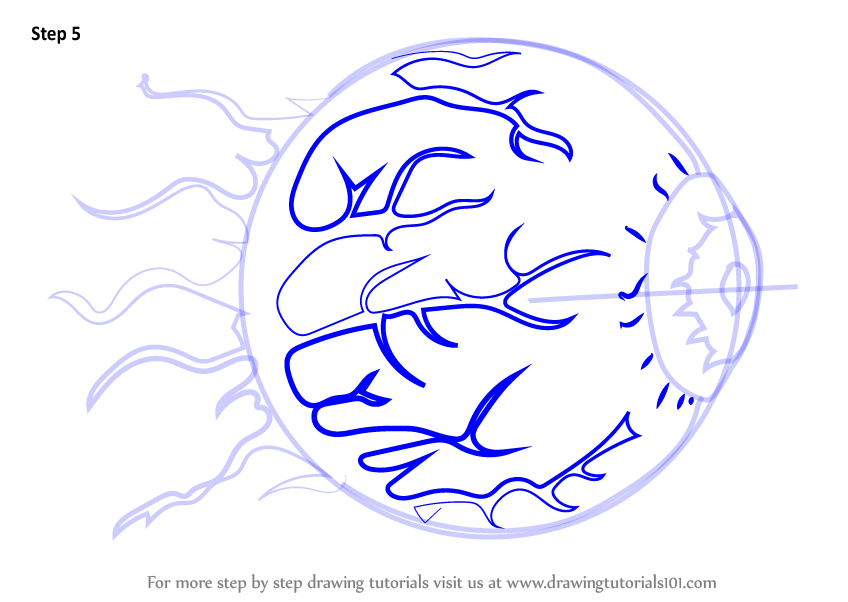 Learn How To Draw Eye Of Cthulhu From Terraria Terraria
