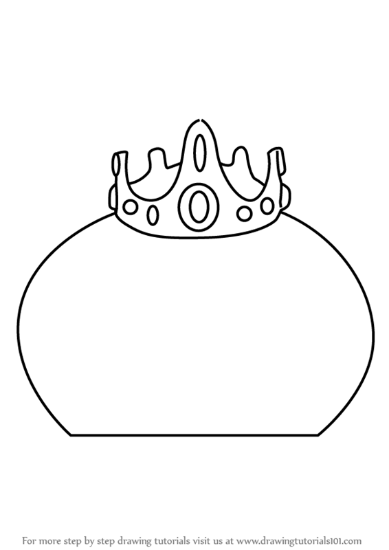 Learn How to Draw King Slime from