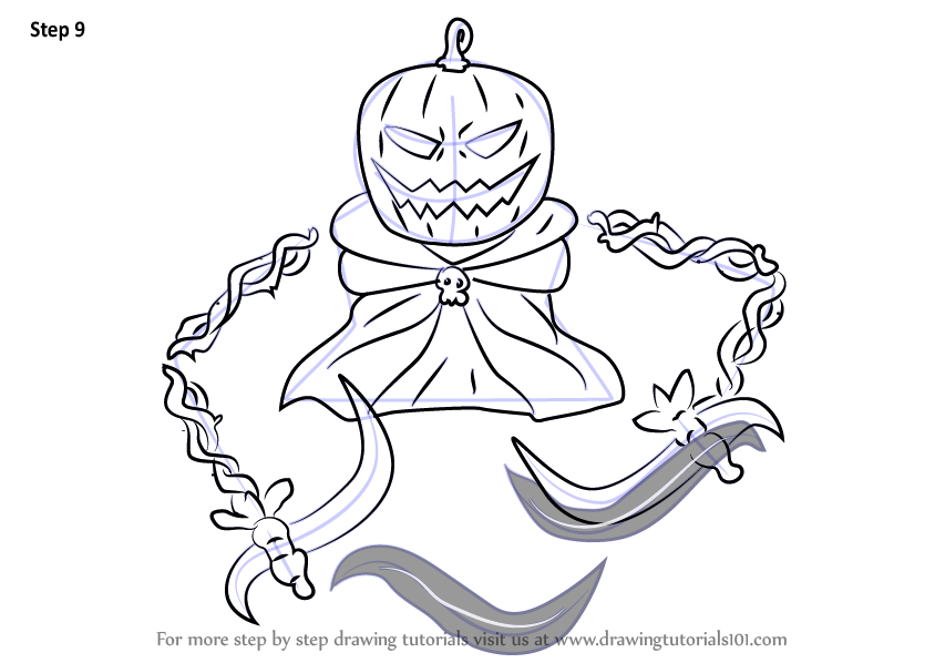 Learn How to Draw Pumpking from