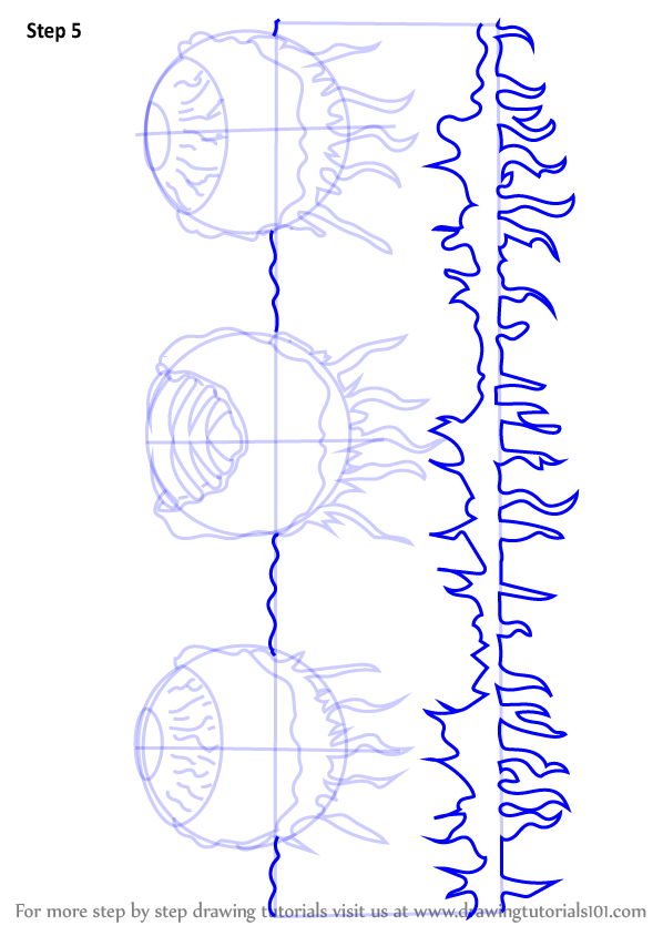 Learn How To Draw Wall Of Flesh From Terraria Terraria