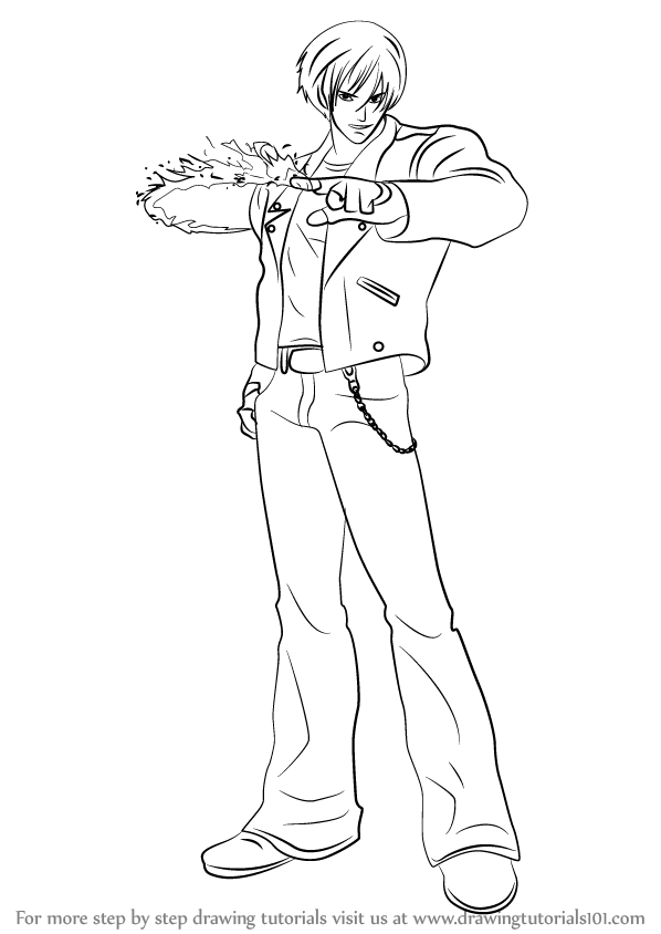 kyo coloring pages - photo#29