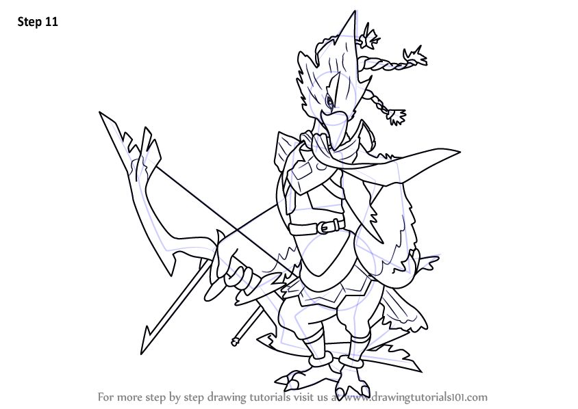 Learn How To Draw Revali From The Legend Of Zelda - Breath Of The