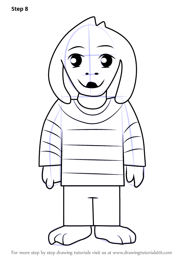 Learn How to Draw Asriel from Undertale