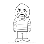 How to Draw Asriel from Undertale