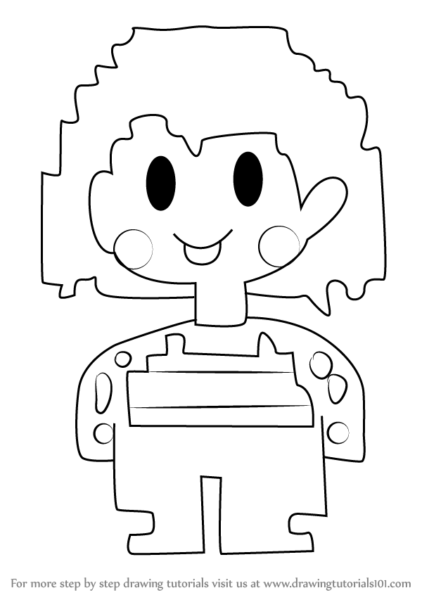 Learn How to Draw Chara from Undertale (Undertale) Step by