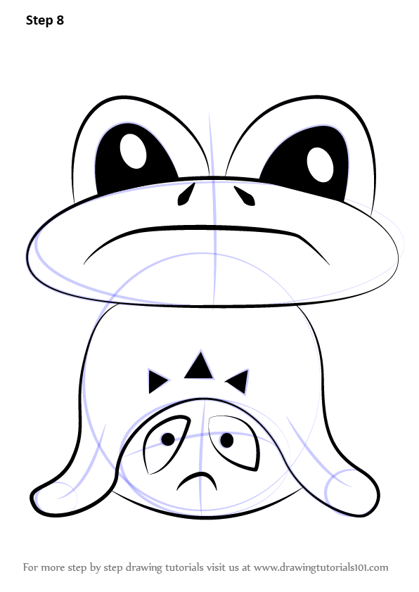 Learn How To Draw Froggit From Undertale Undertale Step