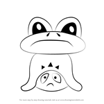 How to Draw Froggit from Undertale