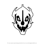How to Draw Gaster Blaster from Undertale