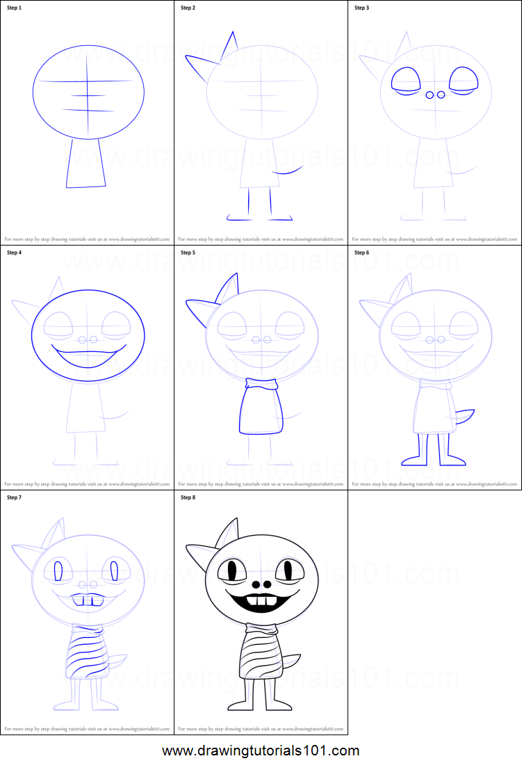 How To Draw Monster Kid From Undertale Printable Step By