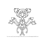 How to Draw Muffet from Undertale