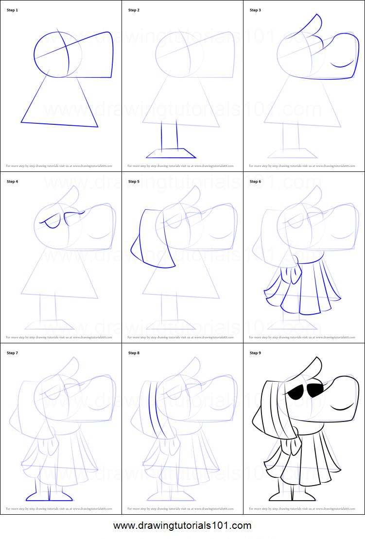 How To Draw Newspaper Editor From Undertale Printable Step By Step Drawing Sheet Drawingtutorials101 Com
