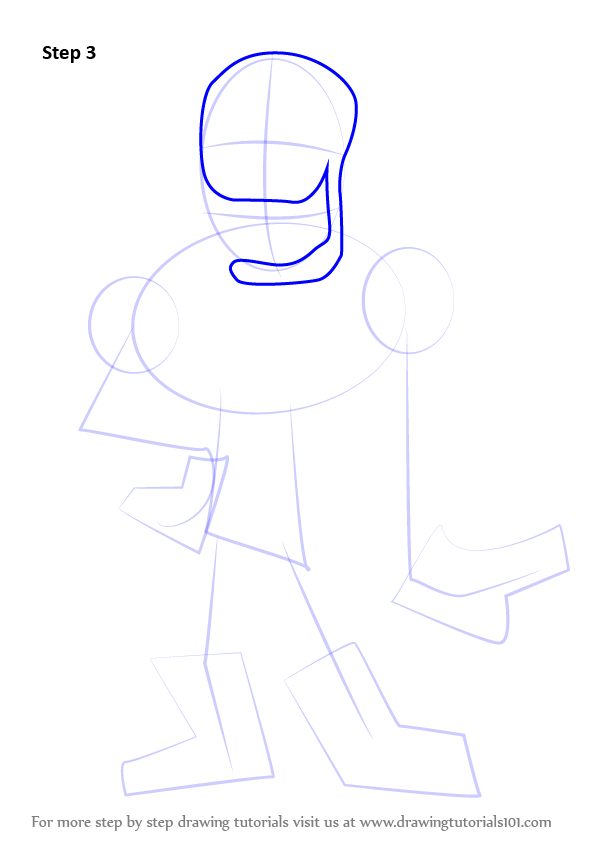 How To Draw Papyrus Undertale Step By Step
