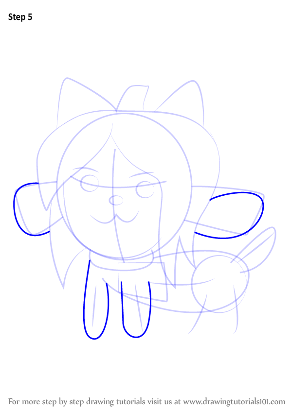 Learn How To Draw Temmie From Undertale Undertale Step