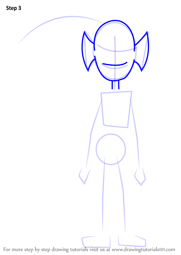 Learn How to Draw Undyne Normal from Undertale (Undertale ...