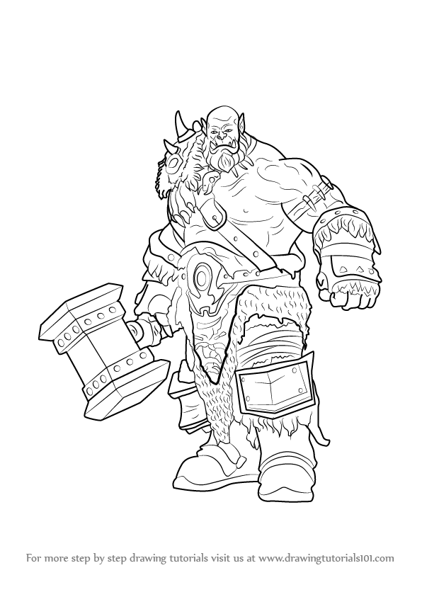 Learn How to Draw Durotan from