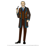 How to Draw Robert Byng from We Happy Few