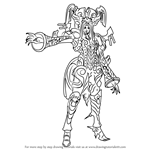 How to Draw Egil from Xenoblade Chronicles