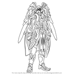 How to Draw Kallian from Xenoblade Chronicles