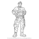 How to Draw Reyn from Xenoblade Chronicles