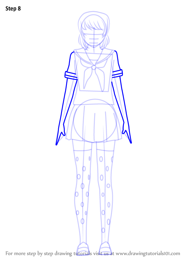 Learn How To Draw Osana Najimi From Yandere Simulator