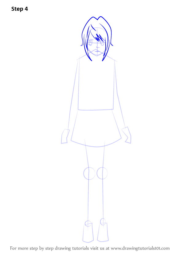 Learn How To Draw Yandere Chan From Yandere Simulator Yandere