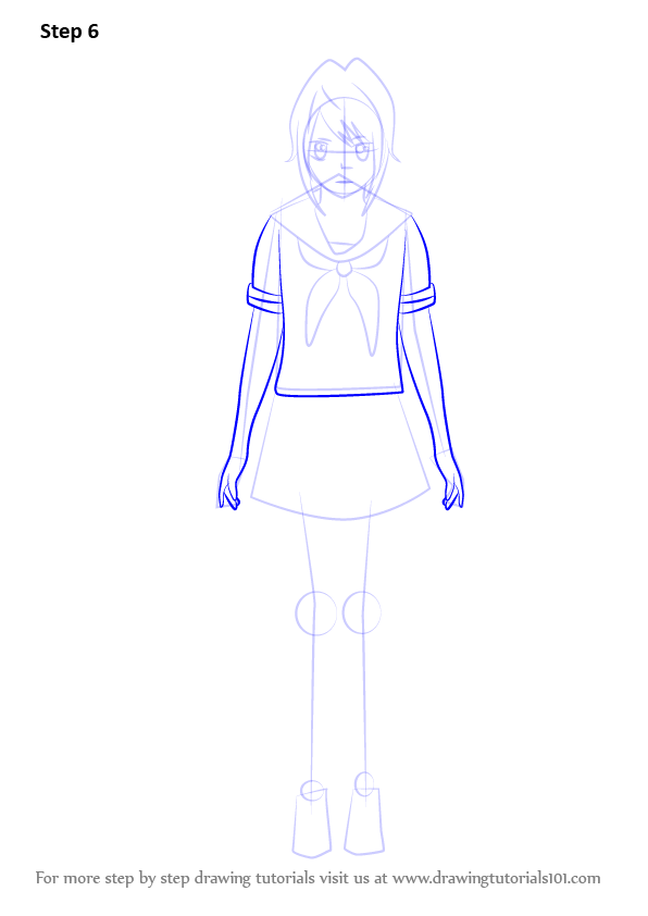 learn how to draw yanderechan from yandere simulator