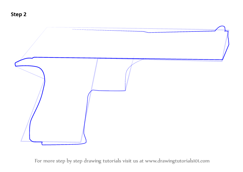 Learn How to Draw IMI Desert Eagle (Pistols) Step by Step ...