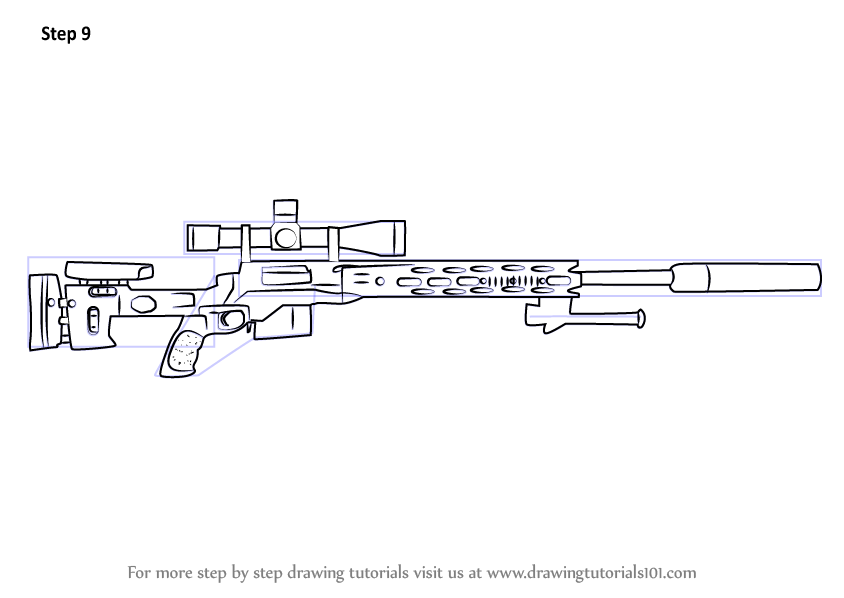 Learn How to Draw a M2010 Enhanced